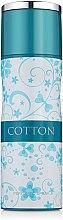 Духи, Парфюмерия, косметика Fragrance World Cotton - Дезодорант-спрей
