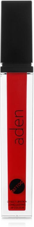 Матовая жидкая помада для губ - Aden Cosmetics Tattoo Effect Lipstick