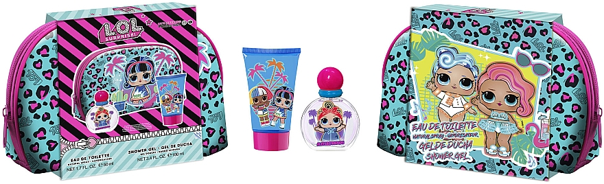 Air-Val International LOL Surprise XTL - Набор (edt/50ml + sh/gel/100ml + bag)