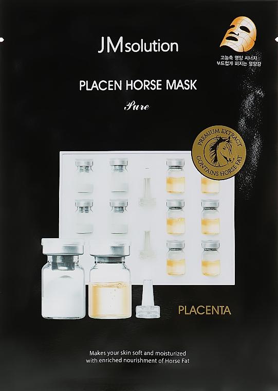 Питательная маска с протеином - JMsolution Placen Horse Mask Pure