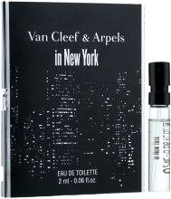 Духи, Парфюмерия, косметика Van Cleef & Arpels In New York - Туалетная вода (пробник)