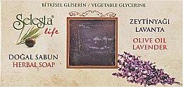 Духи, Парфюмерия, косметика Глицериновое мыло «Лаванда и оливковое масло» - Selesta Life Glycerine Herbal Soap