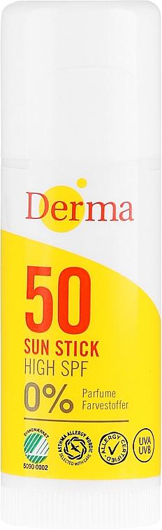 Стик солнцезащитный - Derma Sun Sun Stick High SPF50
