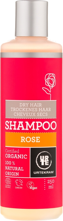 "Шампунь для сухих волос ""Роза"" - Urtekram Rose Dry Hair Shampoo"