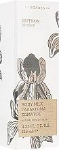 """Духи, Парфюмерия, косметика Молочко для тела """"Шафран и Амбра"""" - Korres Saffron and Amber Body Milk"""