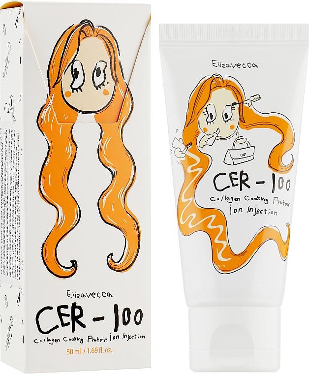 Эссенция для волос с коллагеном - Elizavecca Hair Care Milky Piggy Collagen Coating Protein Ion Injection CER-100