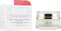 Парфумерія, косметика Насичений крем з гліколевою кислотою для ідеальної шкіри обличчя - Collistar Pure Actives Glycolic Acid Rich Cream