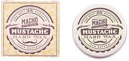 Духи, Парфюмерия, косметика Воск для усов - Macho Beard Company Hard Natural Mustache Wax