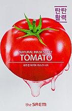 Духи, Парфюмерия, косметика Тканевая маска с экстрактом томата - The Saem Natural Tomato Mask Sheet