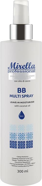 Несмываемое увлажняющее средство для волос - Mirella Professional Massimo Leave-In Moisturizer