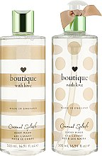 Набор - Grace Cole Boutique With Love Duo Coconut Splash (b/wash/500ml + h/wash/500ml) — фото N2