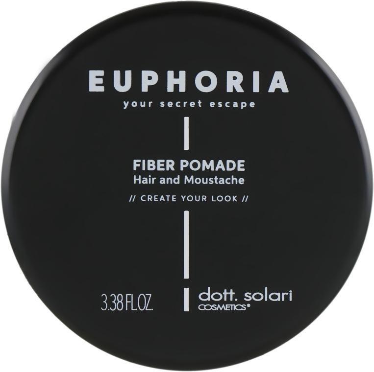 Воск для сильной фиксации - Dott. Solari Euphoria Fiber Pomade