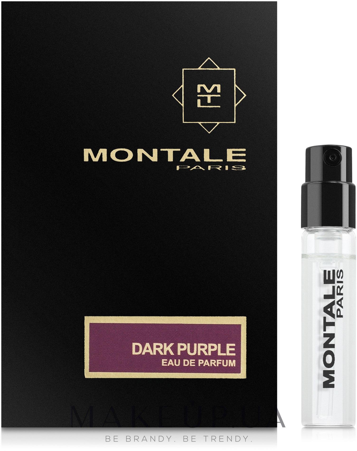 Montale Dark Purple - Парфюмированная вода (пробник) — фото 2ml