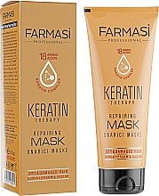 Парфумерія, косметика Маска з кератином для волосся - Farmasi Keratin Therapy Repairing Mask