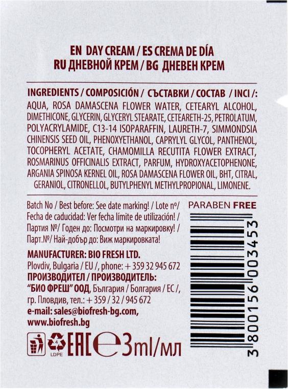 Дневной крем для лица - BioFresh Royal Rose Day Cream (пробник) — фото N2