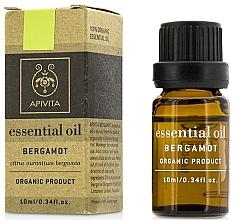 "Духи, Парфюмерия, косметика Эфирное масло ""Бергамот"" - Apivita Aromatherapy Organic Bergamot Oil"