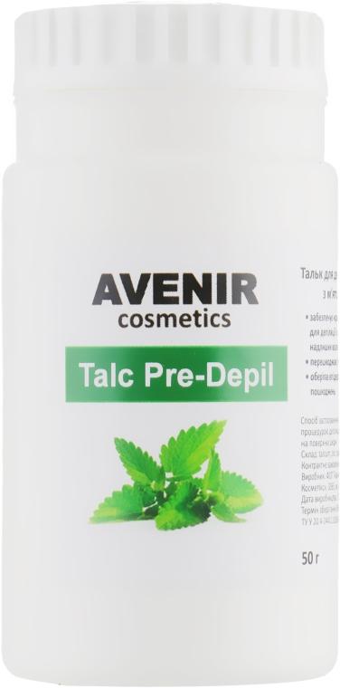 """Тальк для депиляции и шугаринга """"Мята и ментол"""" - Avenir Cosmetics Talc Pre-Depil"""