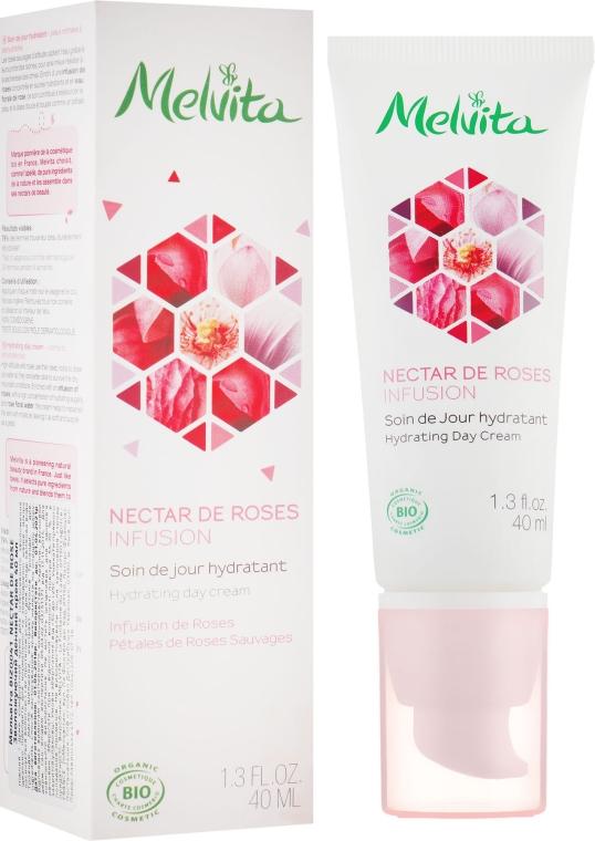 Увлажняющий дневной крем - Melvita Nectar De Rose Moisturizing Rose Nectar