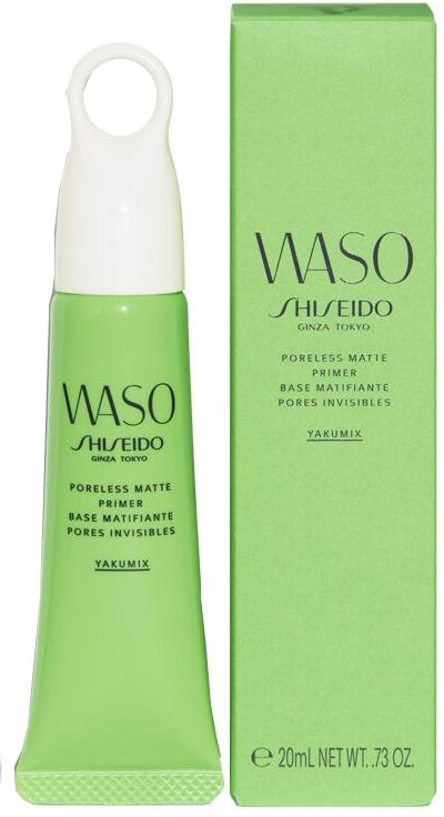 Основа под макияж с матовым эффектом - Shiseido Waso Poreless Matte Primer