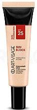 Духи, Парфюмерия, косметика Тональный крем - Art-Visage Sun Block SPF25 Protection & Care