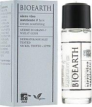 Духи, Парфюмерия, косметика Питательная сыворотка для лица - Bioearth Nourishing Serum