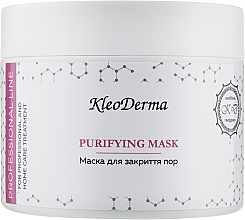 Духи, Парфюмерия, косметика Маска для закрытия пор - Kleoderma Purifying Mask