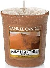 Духи, Парфюмерия, косметика Ароматическая свеча - Yankee Candle Warm Desert Wind