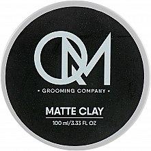 Духи, Парфюмерия, косметика Матовая глина для укладки волос - QM Matte Clay
