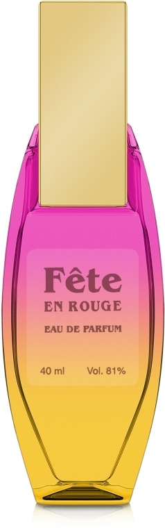 Vexhold Fete En Rouge - Парфюмированная вода