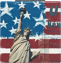 Духи, Парфюмерия, косметика Зеркало косметическое квадратное, Статуя свободы - Lily Cosmetics