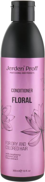 Кондиционер для волос с экстрактами малины, жасмина и лотоса - Jerden Proff Floral