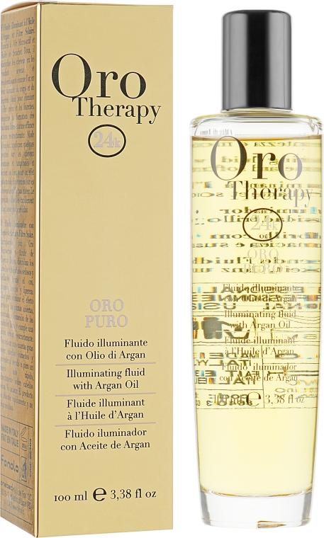 Флюид с золотом - Fanola Oro Therapy Fluido Oro Puro