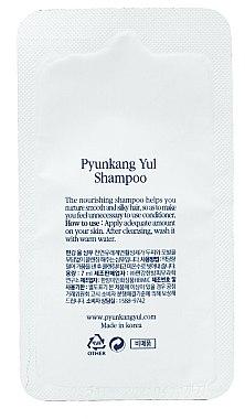 Органический укрепляющий шампунь с экстрактом имбиря - Pyunkang Yul Shampoo (пробник) — фото N1