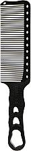 Духи, Парфюмерия, косметика Расческа для тушевки, 240 мм, черная - Y.S.Park Professional 282 Clipper Combs Soft Carbon