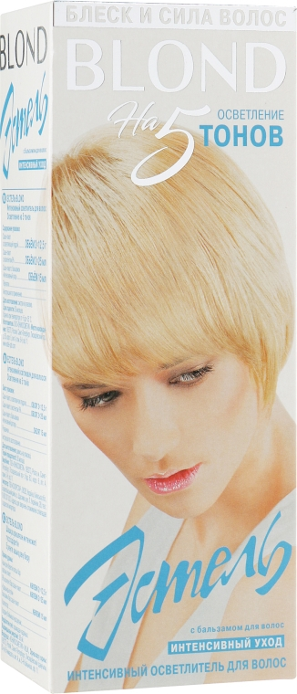 Интенсивный осветлитель для волос - Estel Blond