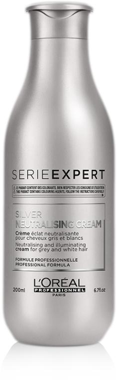 Нейтрализующий кондиционер для серых и белокурых волос - L'Oreal Professionnel Silver Neutralising Conditioner