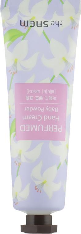 """Крем для рук парфюмированный """"Детская присыпка"""" - The Saem Perfumed Baby Powder Hand Cream"""