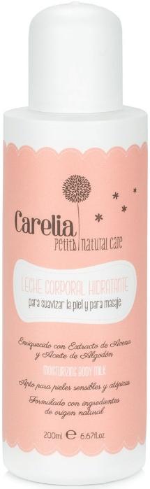Увлажняющее молочко для чувствительной кожи (пробник) - Carelia Moisturizing Body Milk