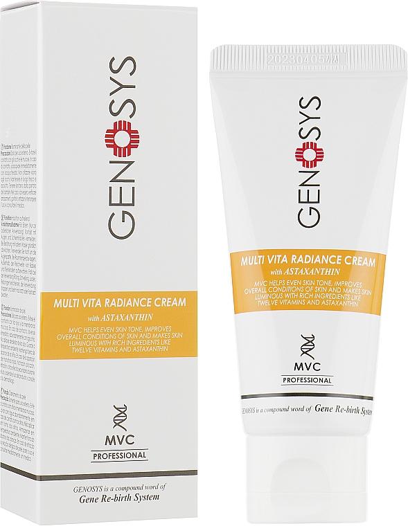 Крем для лица мультивитаминный - Genosys Multi Vita Radiance Cream