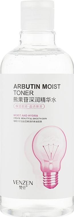 Омолаживающий тонер с экстрактом арбутина - Venzen Arbutin Moist Toner