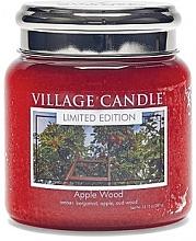 """Духи, Парфюмерия, косметика Ароматическая свеча в банке """"Яблочное дерево"""" - Village Candle Apple Wood"""