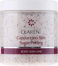 Духи, Парфюмерия, косметика Сахарный пилинг с частицами кофе - Clarena Cappuccino Slim Sugar Peeling