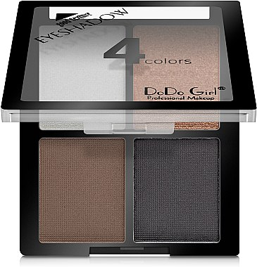 Палетка теней для век - DoDo Girl 4 Colors Eyeshadow — фото N1
