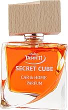 "Духи, Парфюмерия, косметика Ароматизатор спрей-пробка для авто ""Свежая вечеринка"" - Tasotti Secret Cube Fresh Party"