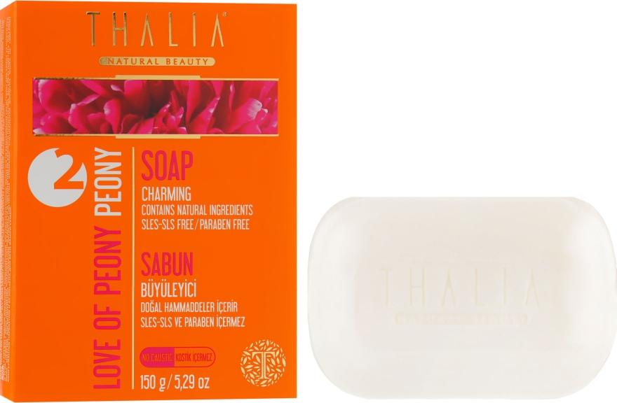Натуральное мыло с экстрактом пиона - Thalia Peony Soap