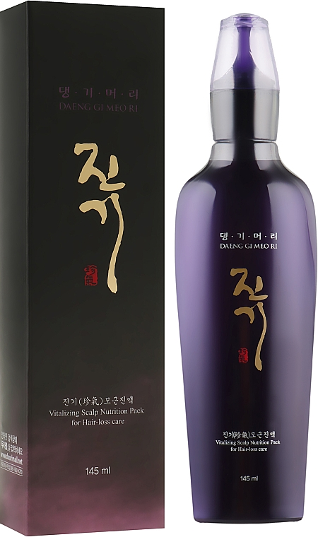 Регенерирующая эмульсия для кожи головы против выпадения волос - Daeng Gi Meo Ri Vitalizing Scalp Pack For Hair-Loss