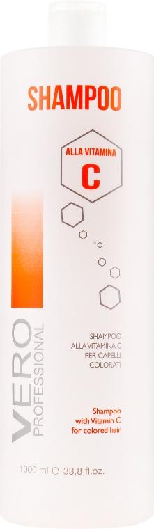 Шампунь для окрашенных волос с витамином С - Vero Professional Shampoo Vitamin C