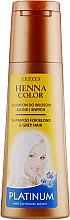 Духи, Парфюмерия, косметика Шампунь для платиновых волос - Venita Henna Color Platinum Shampoo