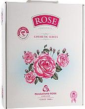"Духи, Парфюмерия, косметика Набор ""Rose"" - Bulgarska Rosa (cr/50ml + h/cr/50ml + cr/soap/100g + gel/200ml + micellar/water/150ml)"