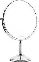 Духи, Парфюмерия, косметика Зеркало двойное металлическое, 02806 - Eurostil